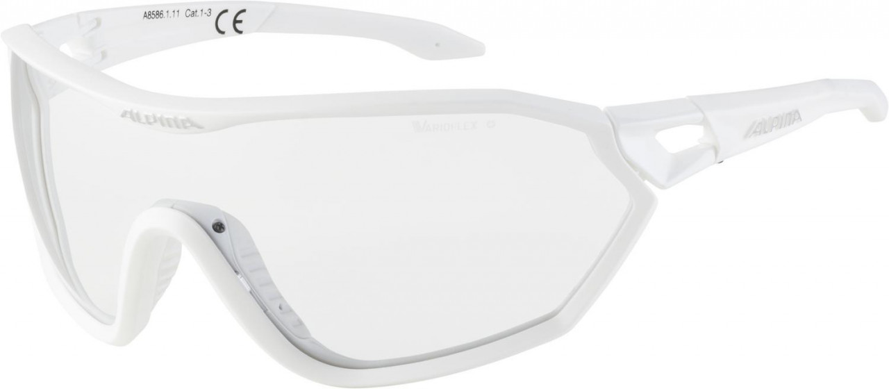 ALPINA Okuliare S-WAY VL+ biele matné