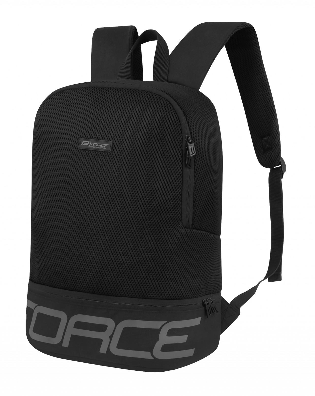 FORCE batoh AMAGER 20 L Čierno-šedý batoh