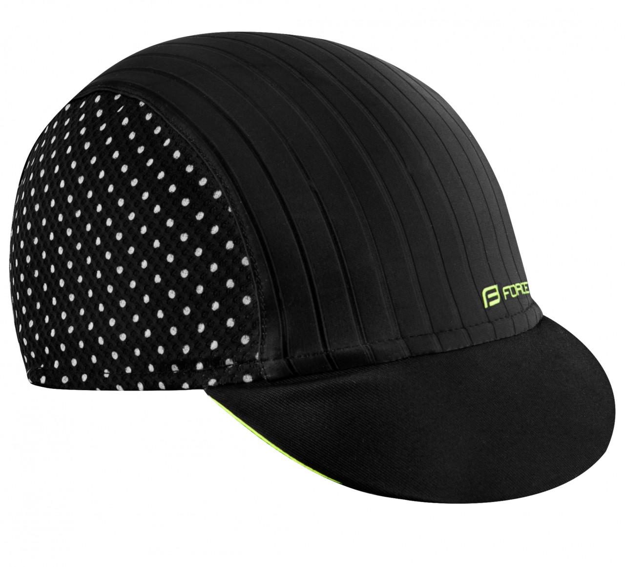 Force čiapka so šiltom POINTS letná, čierno-fluo L-XL