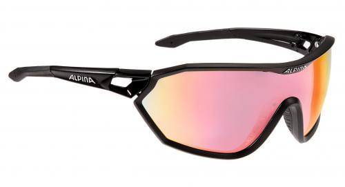 ALPINA Okuliare S-WAY QVM+ čierne matné