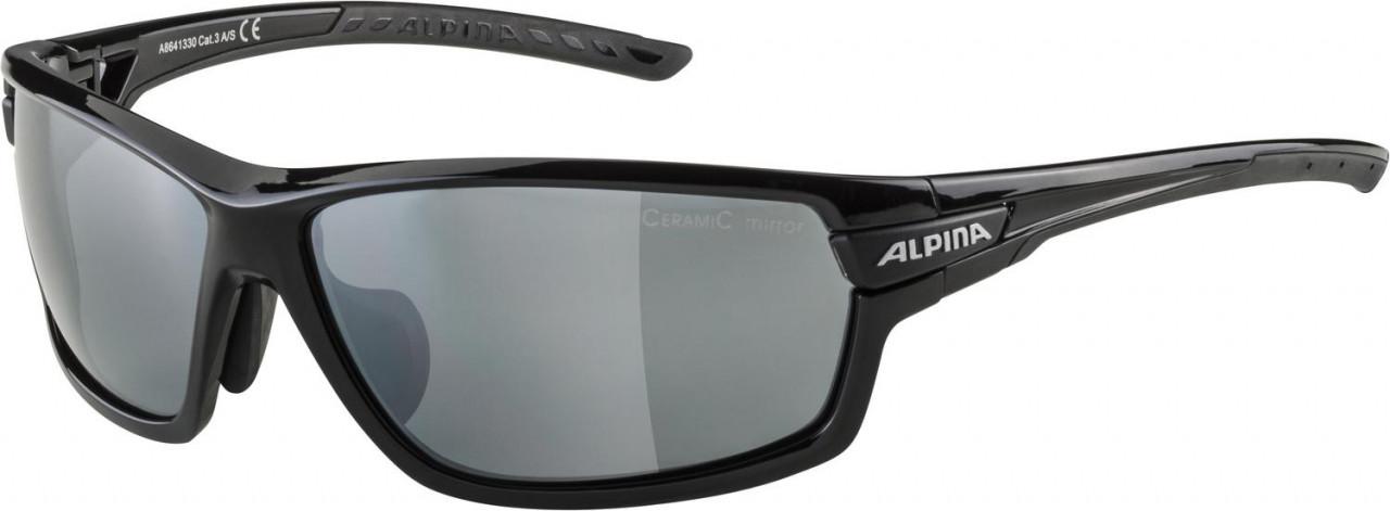 ALPINA Cyklistické okuliare TRI-SCRAY 2.0 čierne, vymeniteľné sklá