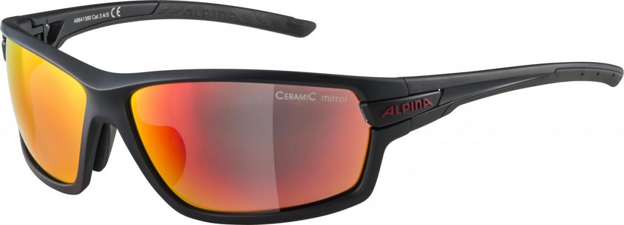 ALPINA Cyklistické okuliare TRI-SCRAY 2.0 indigo-cherry, vymeniteľné sklá