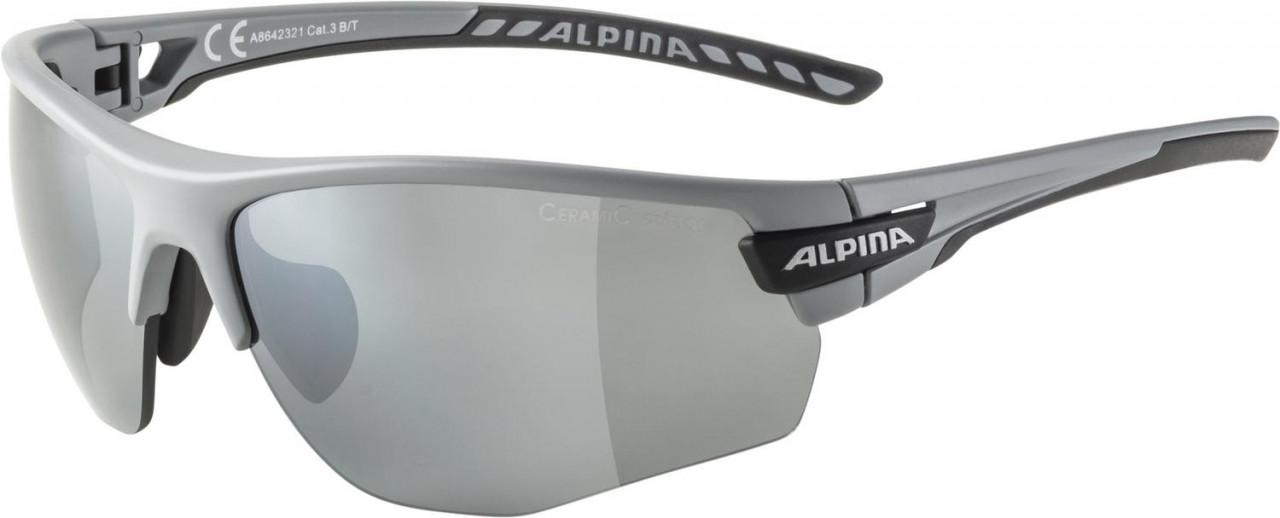 ALPINA Cyklistické okuliare TRI-SCRAY 2.0 HR šedé mat, vymeniteľné sklá