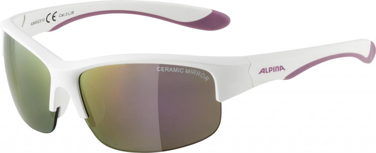 ALPINA Detské okuliare FLEXXY YOUTH HR bielo-fialové