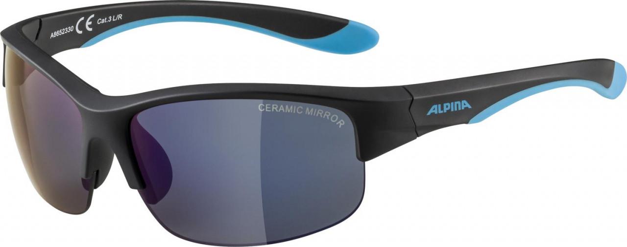 ALPINA Detské okuliare FLEXXY YOUTH HR čierno-modré