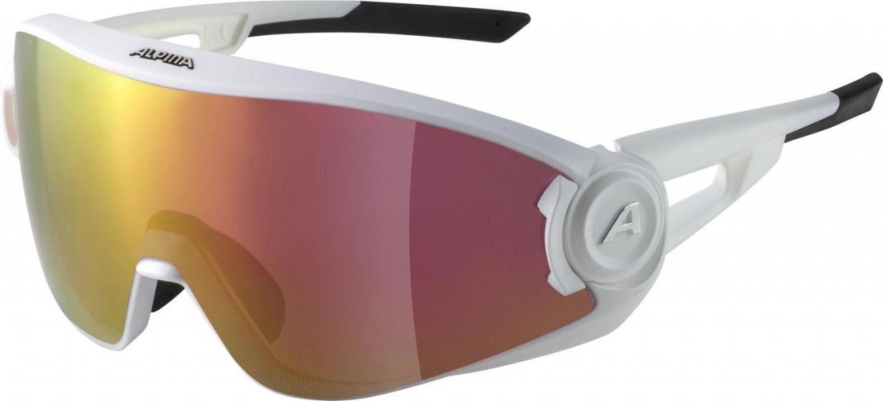 ALPINA Okuliare 5W1NG Q+VM biele matné