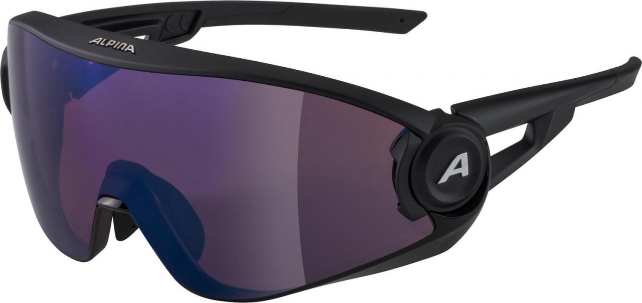 ALPINA Okuliare 5W1NG Q+VM čierne matné