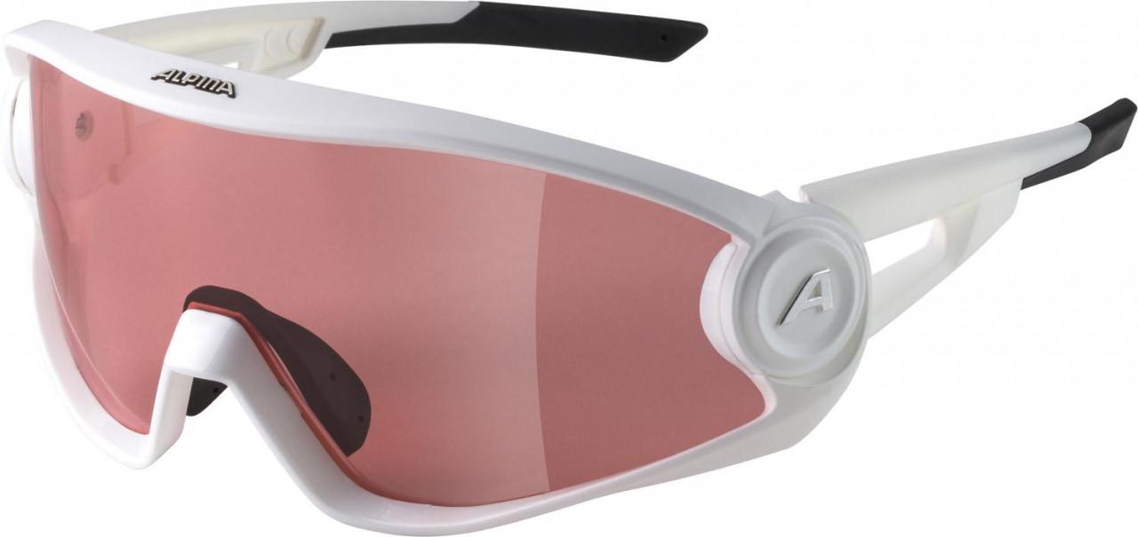 ALPINA Okuliare 5W1NG Q+CM biele matné
