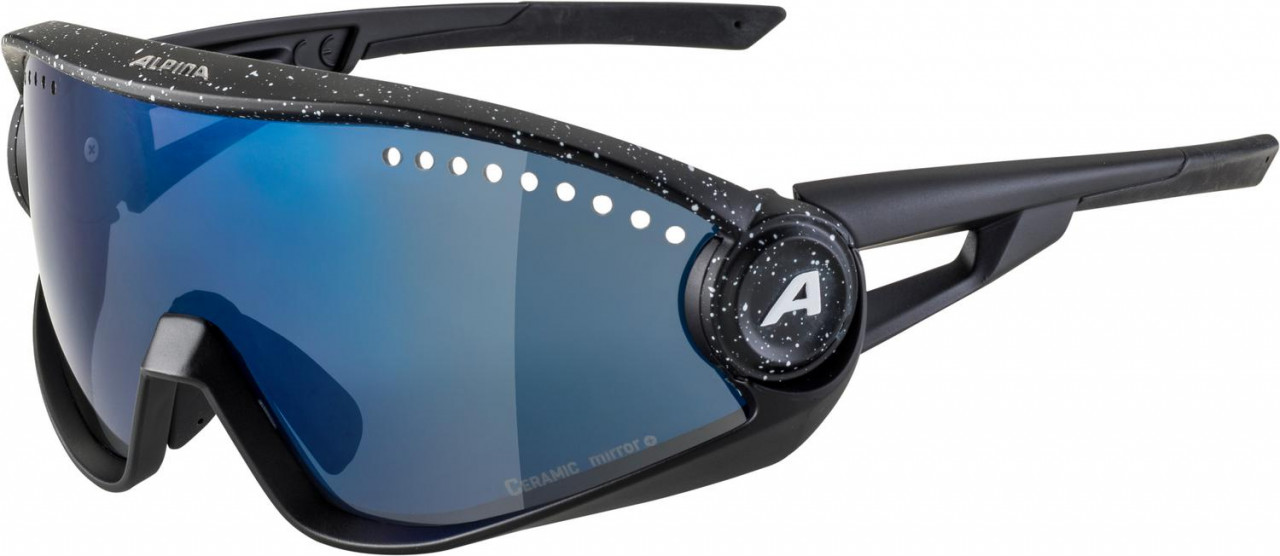 ALPINA Okuliare 5W1NG CM+ čierna blur