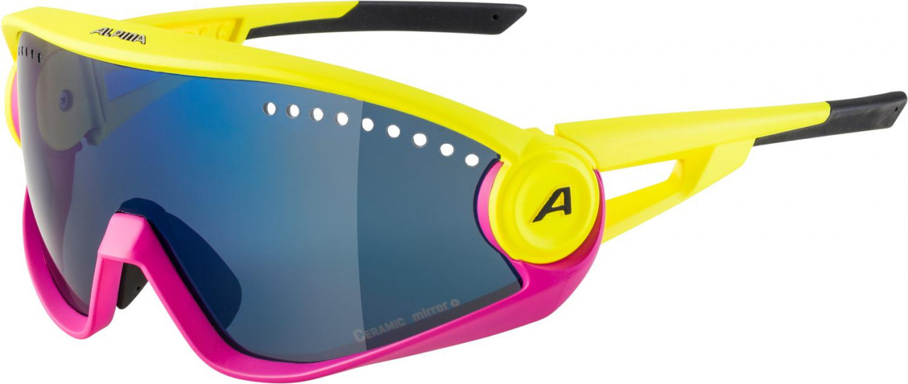 ALPINA Okuliare 5W1NG CM+ žlto-magentové