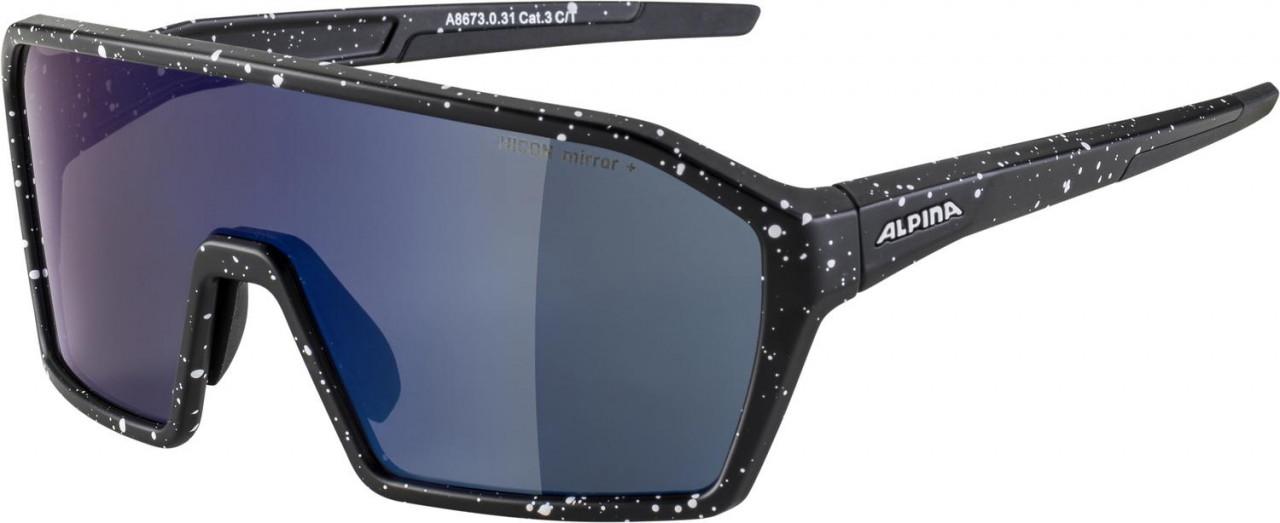 ALPINA Cyklistické okuliare RAM HM+ čierna blur
