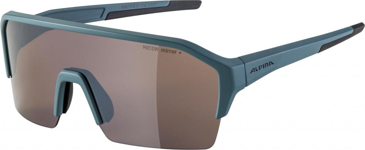ALPINA Cyklistické okuliare RAM HR HM+ dirtblue mat