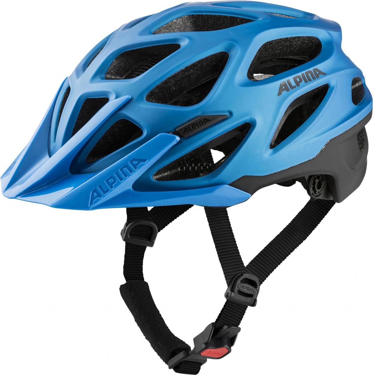 ALPINA Cyklistická prilba MYTHOS 3.0 L.E. true-blue mat Veľkosť : M