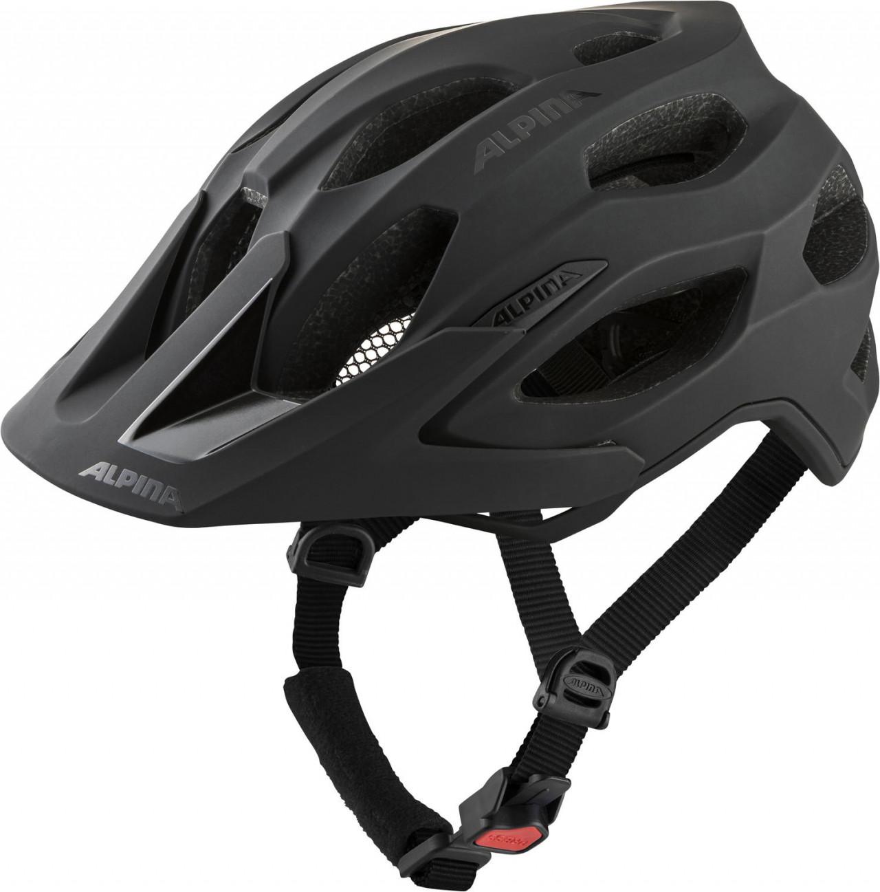 ALPINA Cyklistická prilba Carapax 2.0 čierna mat Veľkosť : M