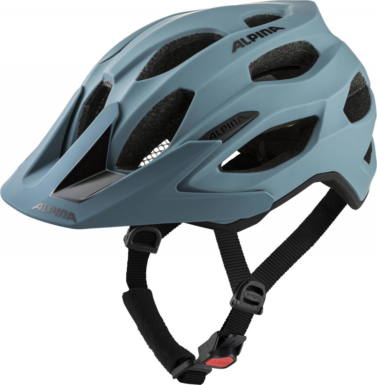 ALPINA Cyklistická prilba Carapax 2.0 dirt-blue mat Veľkosť : M