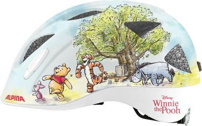 ALPINA Cyklistická prilba XIMO Disney Medvedík Winnie Pooh Veľkosť : XS
