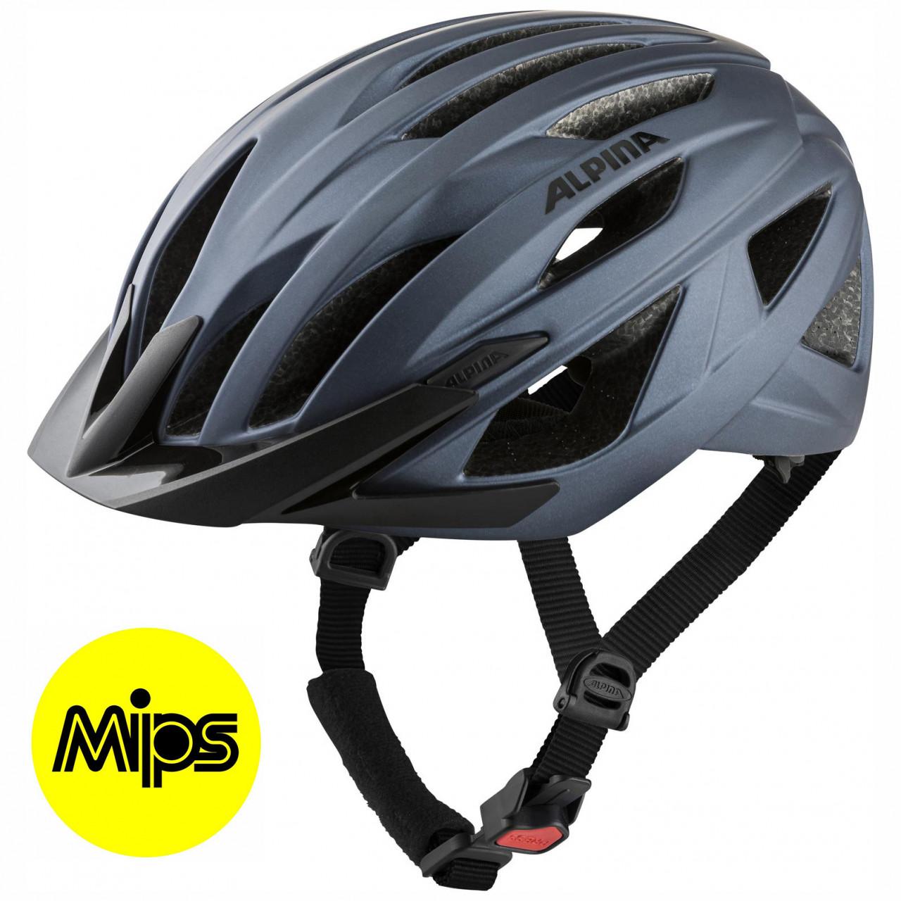ALPINA Cyklistická prilba DELFT MIPS indigo mat Veľkosť : M