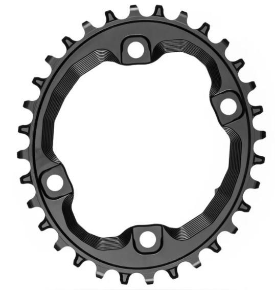 absoluteBLACK Oval XT M8000 pre 12spd čierny  32T