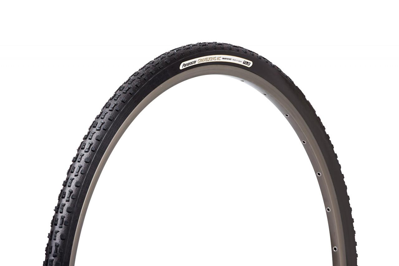 PANARACER Plášť Gravelking AC, kevlar. pätka, čierny 700x35C, TLC, čierne