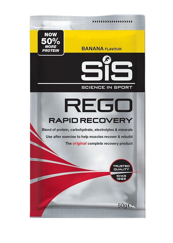 SiS Rego Rapid Recovery regeneračný nápoj 50g banán 50g