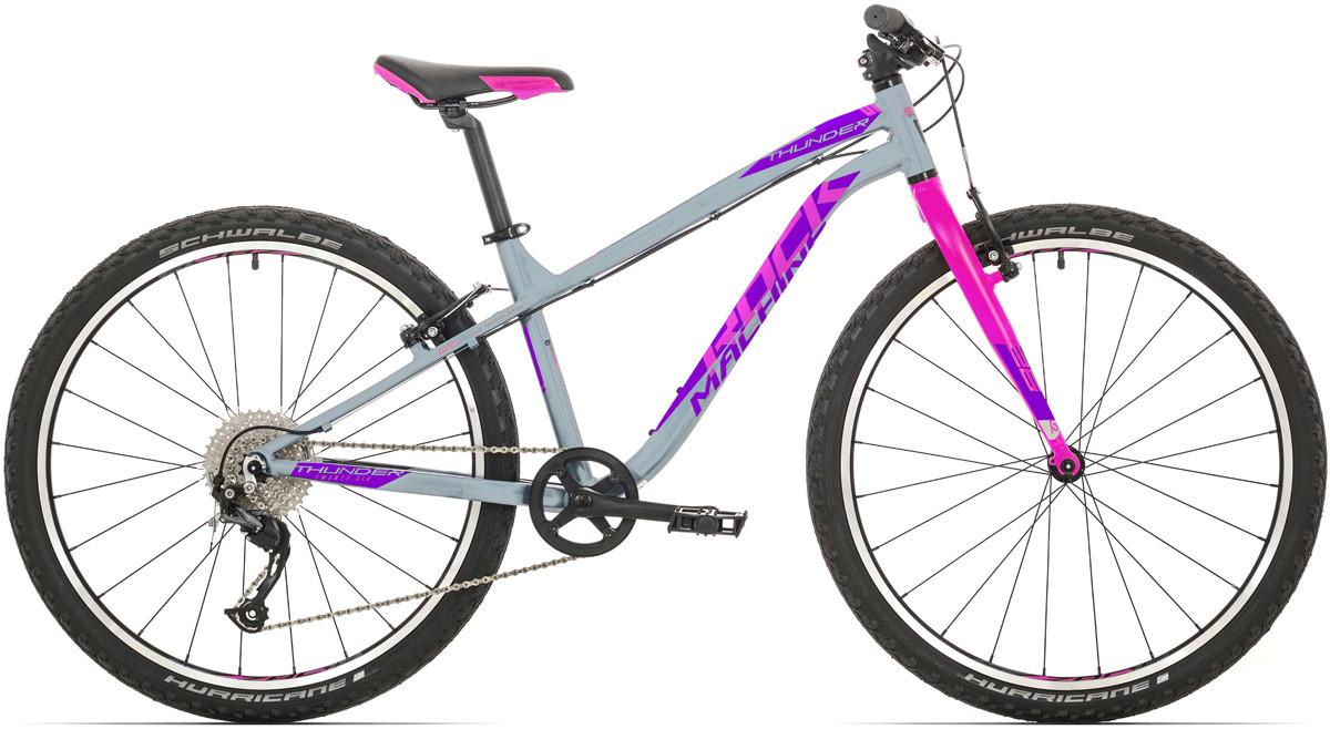 """Rock Machine Thunder 26 VB, model 2020, šedá/ružová/fialová 14"""" (XS)"""
