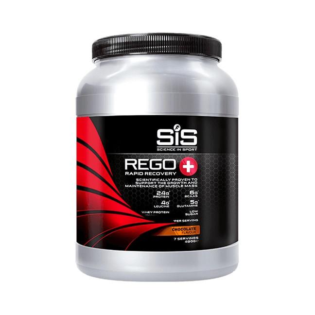 SiS Rego+ Rapid Recovery regeneračný nápoj 490g malina