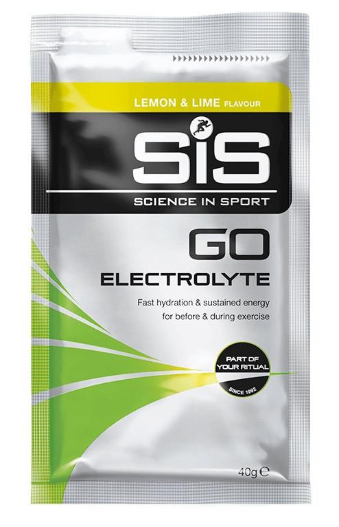 SiS GO Electrolyte sacharidový nápoj 40g citrón a limetka