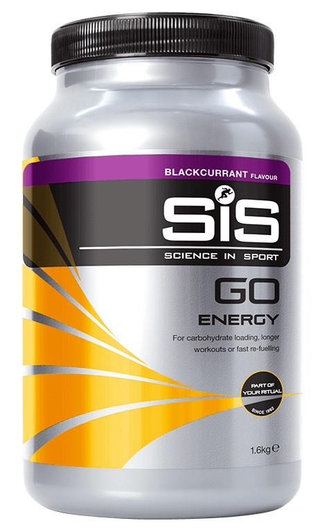 SiS GO Energy energetický nápoj 1600g čierne rýbezle