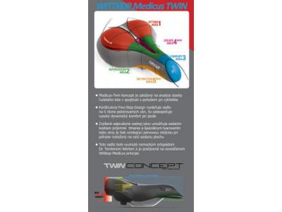 Wittkop Sedlo Race TWIN MEDICUS 7.0 Gel sport