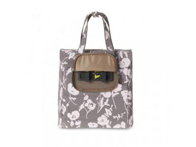 BASIL Taška na nosič ELEGANCE Shopper, tmavošedá elegantná, nákupná