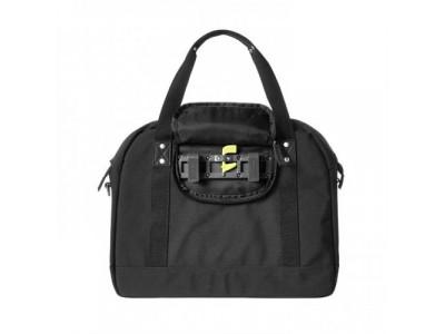 BASIL Taška na nosič PORTLAND BUSINESSBAG, čierna s peňaženkou zdarma